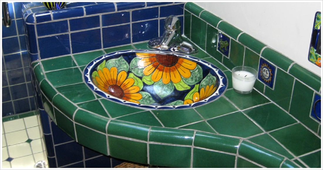 hand made bathroom sinks from Mexico