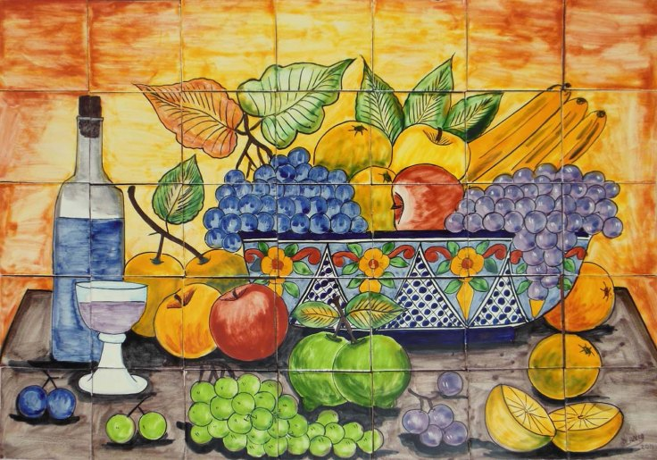 handcrafted ceramic tile murals