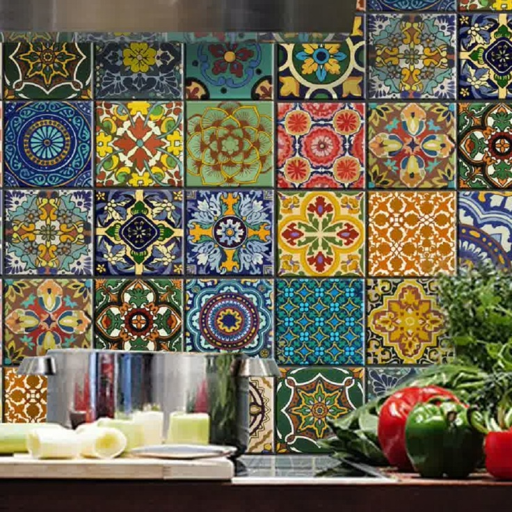 handcrafted ceramic tile designs from Mexico